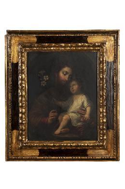 San José y el Niño - Cuadro