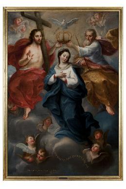 Coronación de la Virgen - Cuadro