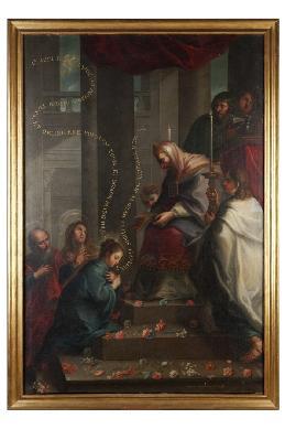 Presentación de la Virgen en el templo - Cuadro