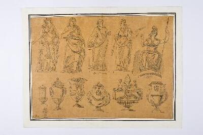 Esculturas y objetos clásicos - Dibujo