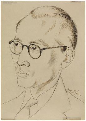 Retrato de Ekitai Ahn - Dibujo artístico