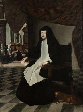 Doña Mariana de Austria como reina regente - Cuadro