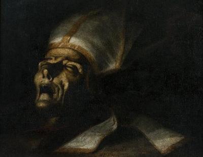 Cabeza de San Dionisio - Cuadro