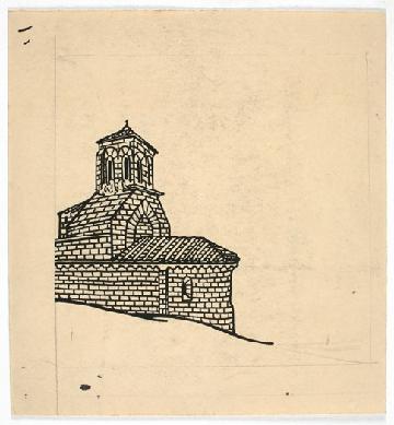 Dibujo Iglesia Romanica