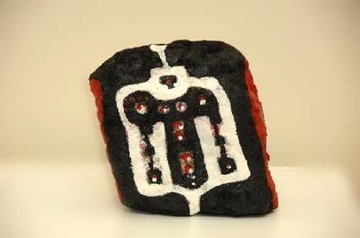 La piedra de Calaceite - Escultura