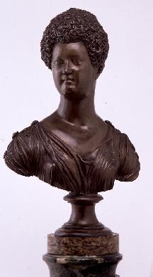 María de Medici, reina de Francia - Escultura