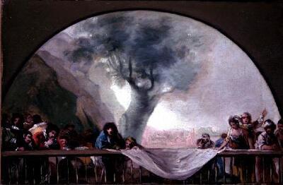 Copia de Goya para la cúpula de la Ermita de San Antonio de la Florida - Cuadro