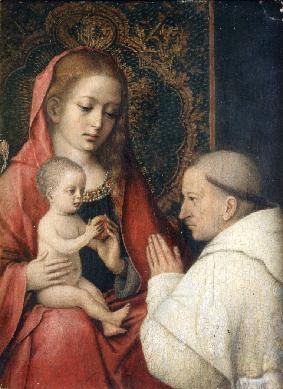 Virgen con Niño y San Bernardo - Cuadro