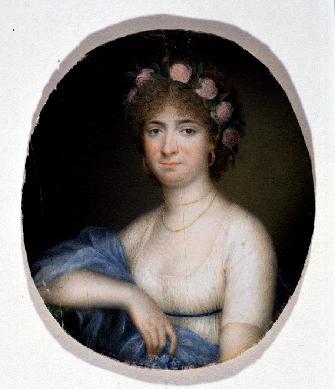 Retrato femenino - Miniatura