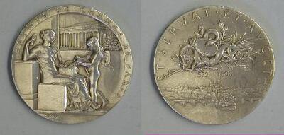 Agentes de cambio, París - Medalla