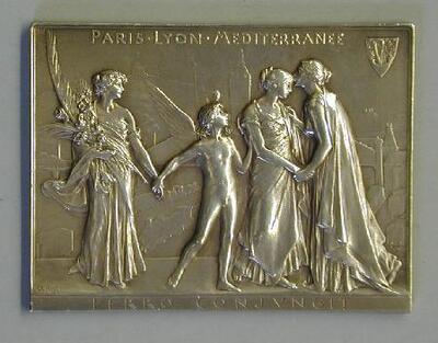 Encuentro de accionistas, París - Placa