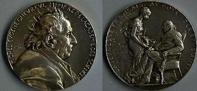 Michel Eugene Chevreul - Medalla