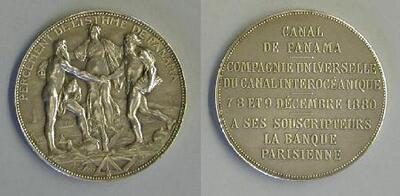 Compañía Interoceánica del Canal de Panamá - Medalla