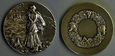 La campesina - Medalla