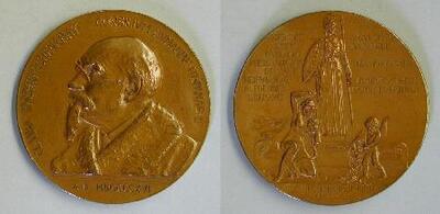 Medalla conmemorativa de la concesión del Premio Nobel a José Echegaray en 1916 - Medalla