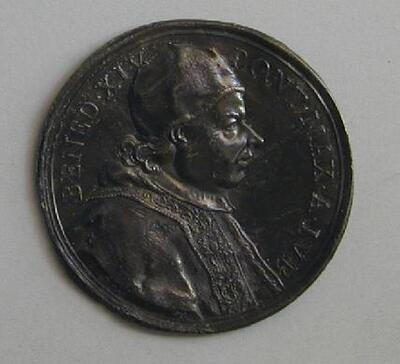 Benedicto XIV - Anverso