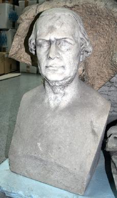 Retrato masculino - Busto