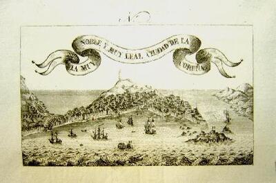 La muy noble y muy leal ciudad de La Coruña - Gravado