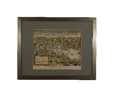 Image from object titled An Exact Draught of the Bay and Harbour of Vigo - Gravado