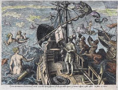 Cristobal Colón el Ligur - Gravado