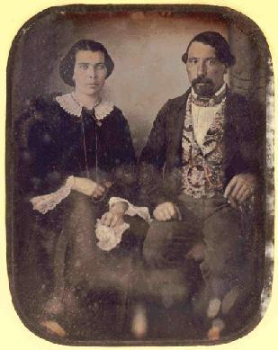 Retrat de parella asseguda - Daguerreotip
