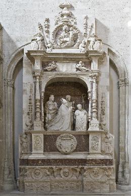 Sepulcro del Obispo Diego de Avellaneda - Sepulcro