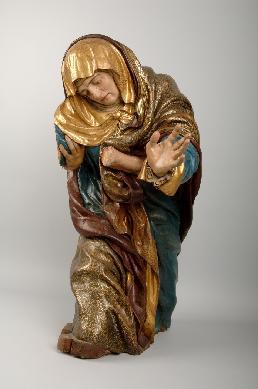 Virgen María - Escultura de bulto redondo