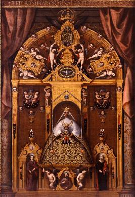 La Virgen de los Reyes - Cuadro