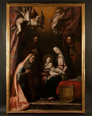 Sagrada Familia con San Joaquín y Santa Ana - Cuadro