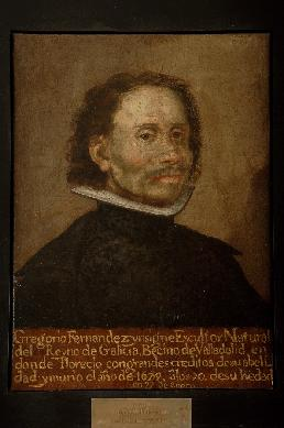 Retrato de Gregorio Fernández - Cuadro