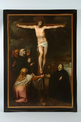 La visión del Calvario del Padre Francisco Jerónimo Simó - Cuadro