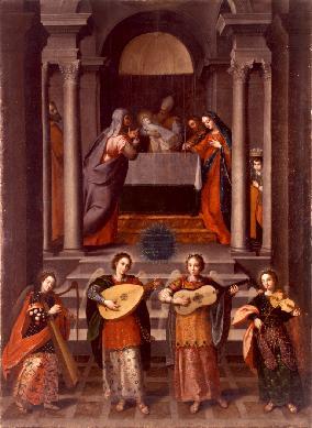 Presentación de Jesús en el templo - Cuadro