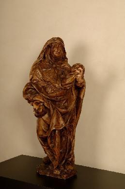 Dolorosa - Escultura de bulto redondo