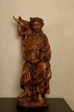 San Juan Evangelista - Escultura de bulto redondo