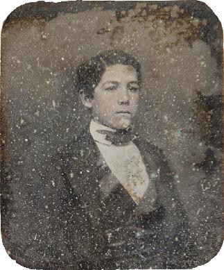 Retrato masculino - Daguerrotipo