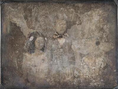 Retrato de jóvenes - Daguerrotipo