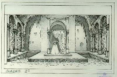 Image from object titled Rigoletto - Escenografía