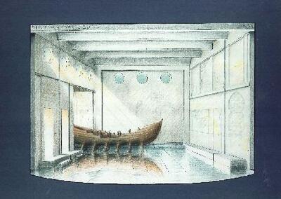 Marina - Escenografía