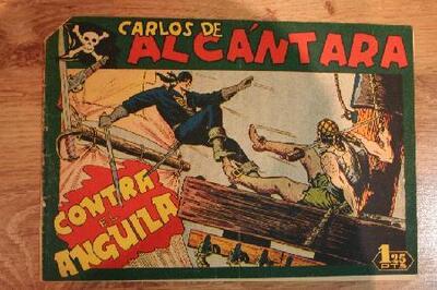 Carlos de Alcántara contra el anguila - Tebeo