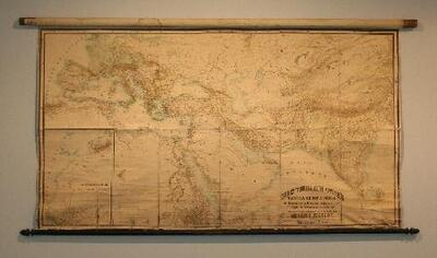 Image from object titled Orbis terrarum antiqui. Tabula Geographica - Mapa