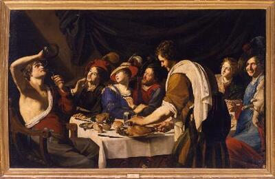 Escena de banquete - Cuadro