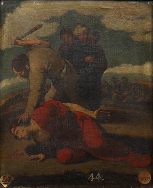 Martirio de Santiago el Menor - Cuadro