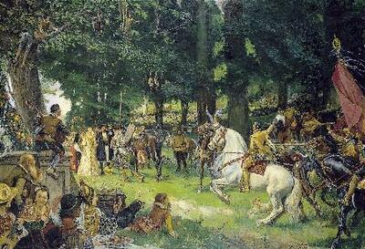 Las bodas de Camacho - Cuadro