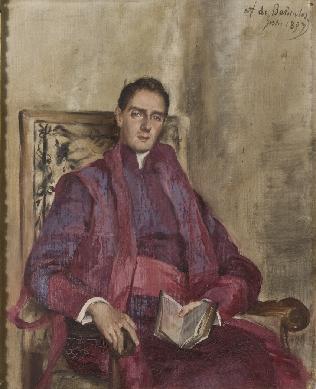 Retrato del prelado Bernelos - Cuadro