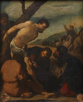 Martirio de San Bartolomé - Cuadro
