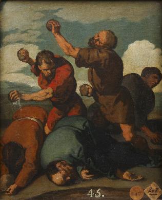 Martirio de San Simón - Cuadro