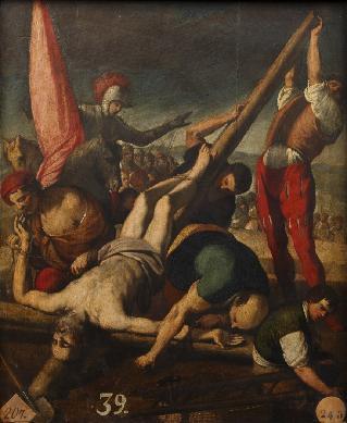 Martirio de San Pedro - Cuadro