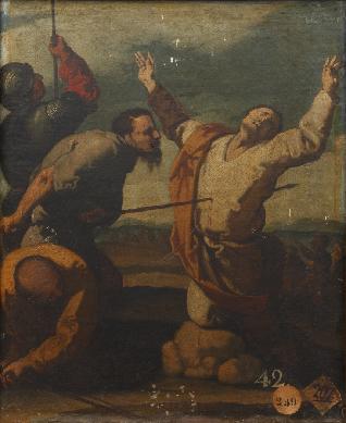 Martirio de Santo Tomás - Cuadro