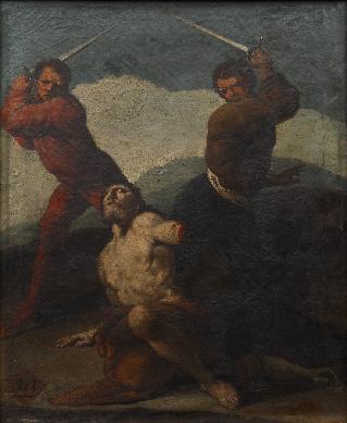 Martirio de San Matías - Cuadro