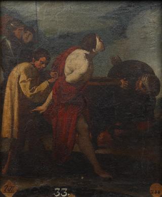 Martirio de San Juan Evangelista - Cuadro